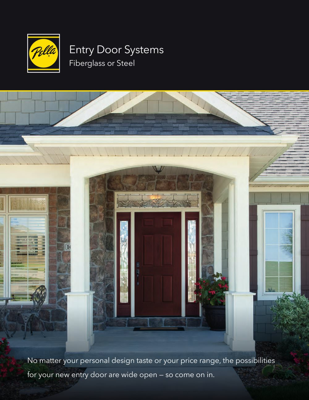 Fiberglass And Steel Entry Doors Pella Pdf Catalogs