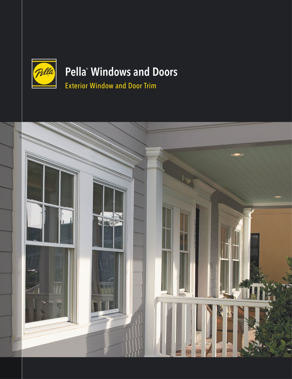 Exterior window trim - Pella Windows And Doors Exterior Window And Door Trim 1 6 Pages