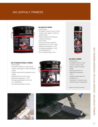 COMMERCIAL &amp; INDUSTRIAL Premium Products Catalogue