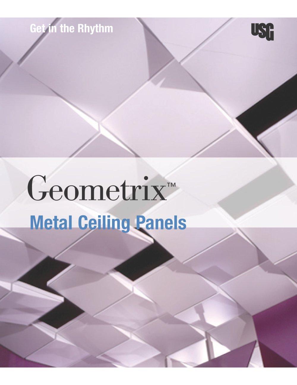 USG Geometrix® 3D Metal Ceiling Panels - USG - PDF Catalogues ...