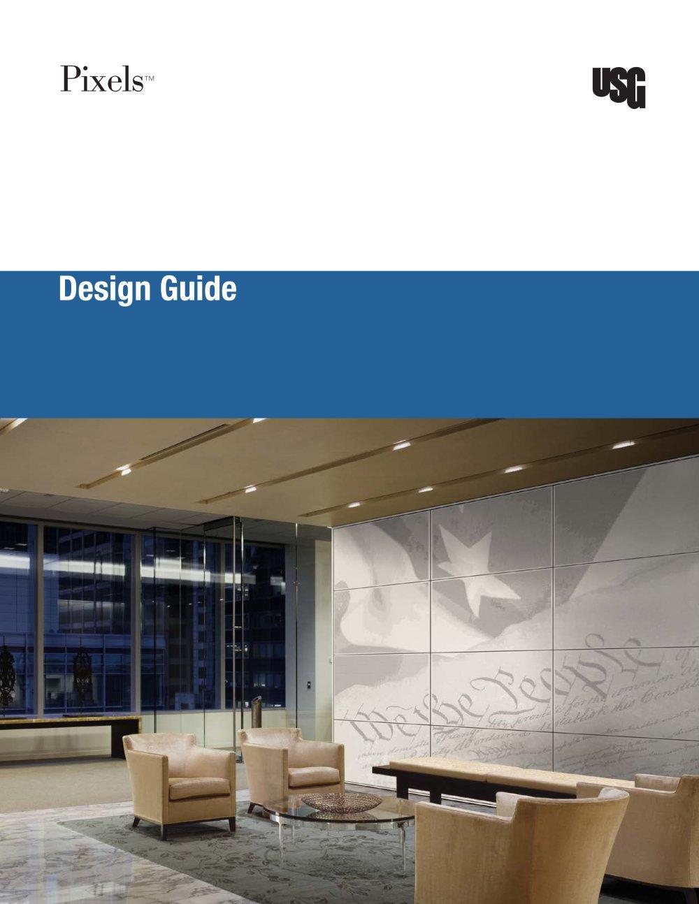 USG Pixels™ Metal Ceiling Panels Design   1 / 13 Pages