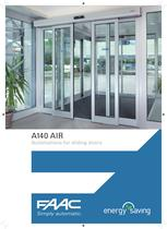 A140AIR - Automatic sliding door Energy saving