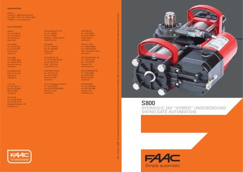 UNDERGROUND OPERATORS:S800 operator