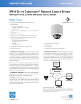 IP110 Series Camclosure ® Network Camera System