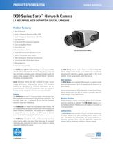IX30 Series Sarix � Network Camera