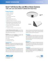 Sarix IL10 Series Box and Micro Dome Cameras Specification Sheet
