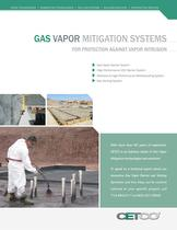 GAS VAPOR MITIGATION SYSTEMS