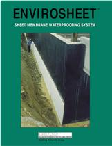 SHEET MEMBRANE WATERPROOFING SYSTEM