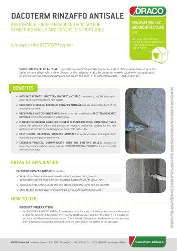 DACOTERM RINZAFFO ANTISALE - DRACO - PDF Catalogs | Documentation