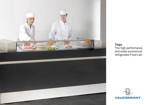 Ta&iuml;ga The high performance and really economical refrigerated Food Lab
