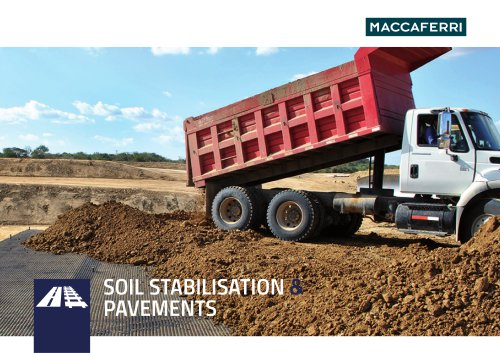 Soil Stabilisation & Pavements Brochure
