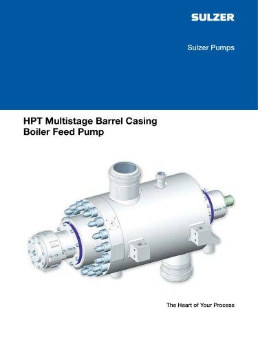 HPT Multistage Barrel Casing Boiler Feed Pump - abs - PDF Catalogs
