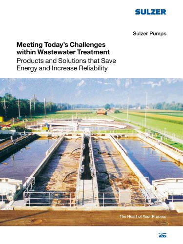 Meeting Today's Challenges within Wastewater Treatment - abs