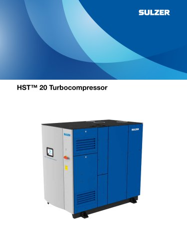 Turbocompressor Type ABS HST 20 - abs - PDF Catalogs