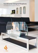 SCANDINAVIAN DESIGNED FIREPLACE