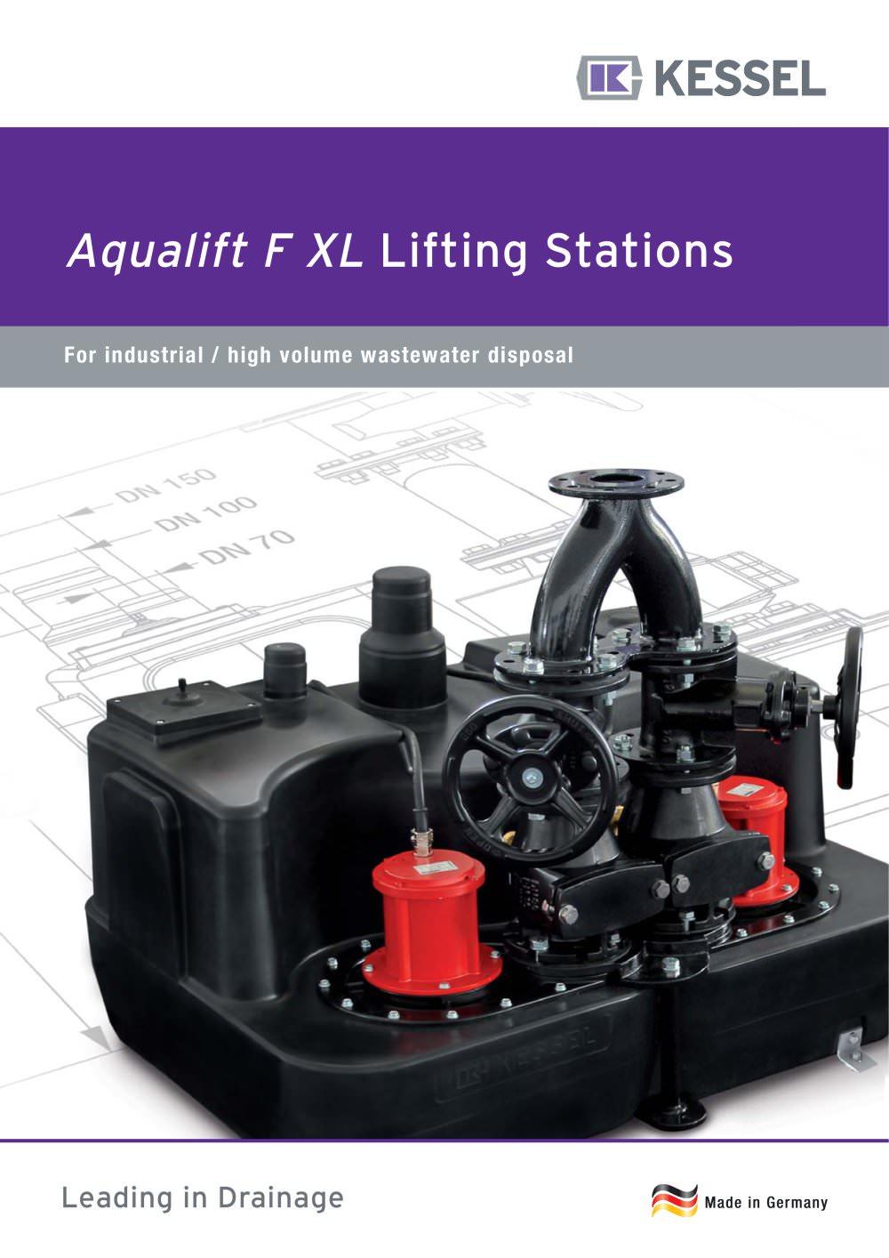 Aqualift F XL Lifting Stations - KESSEL - PDF Catalogues ...