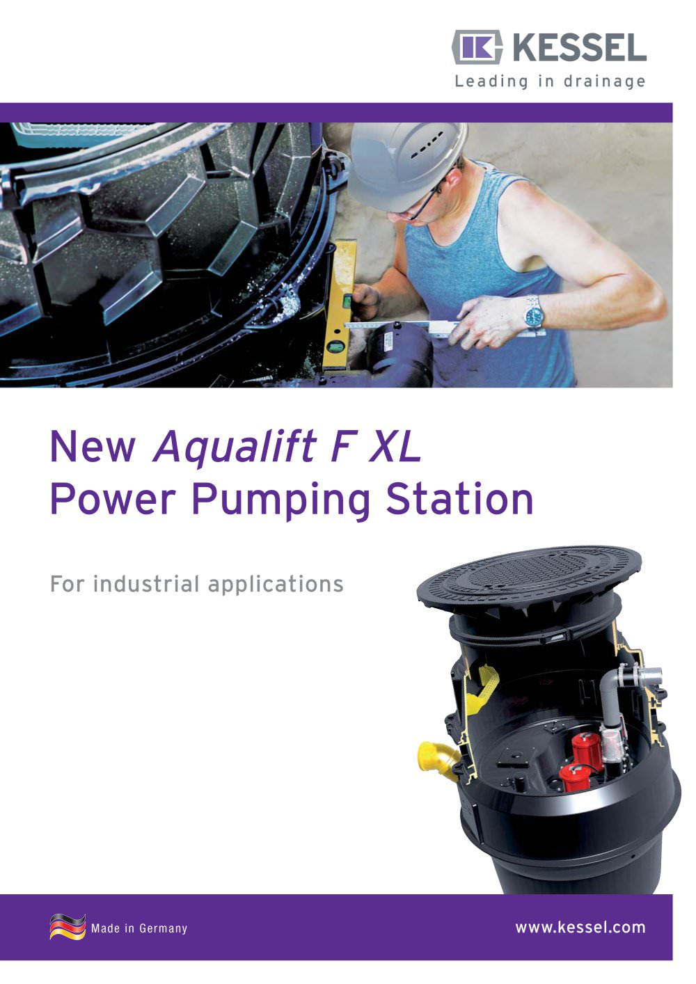 New Aqualift F XL Power Pumping Station - KESSEL - PDF Catalogues ...