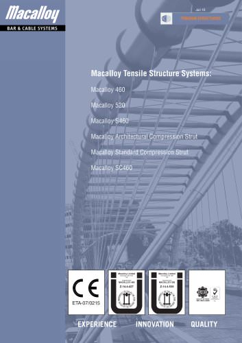 Macalloy Tensile Structure Systems
