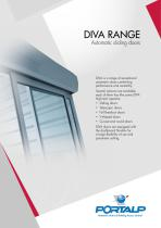 PORTALP - Round and Curved Doors DIVA