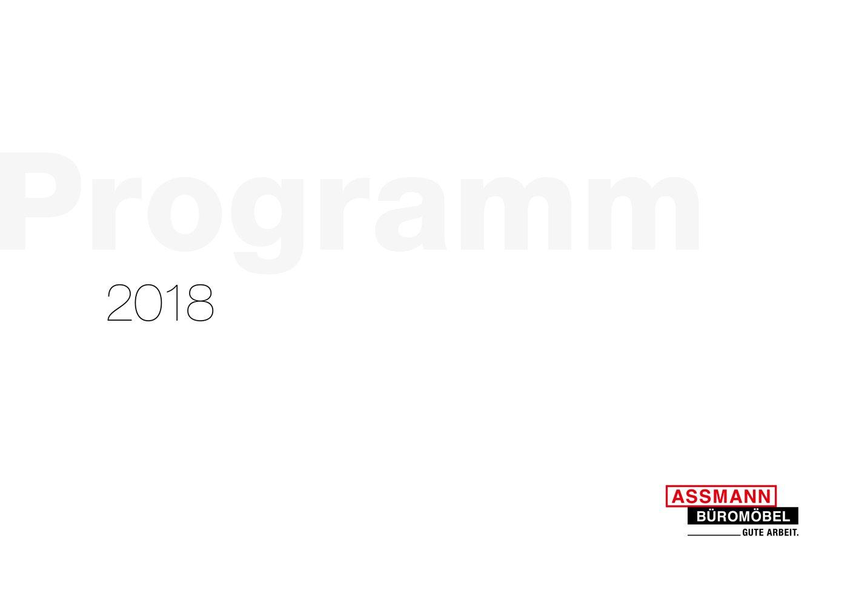 Programmbuch 2018 Assmann Buromobel Gmbh Co Kg Pdf Catalogues