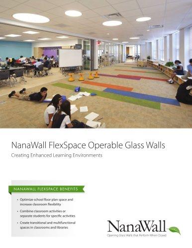 NanaWall FlexSpace Operable Glass Walls