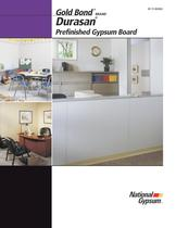 Durasan Prefinished Gypsum Board