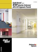 Gold Bond ® brand e 2 XP® Interior Extreme  ® AR & IR Gypsum Panels