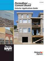 PermaBase ® BRAND Cement Board Exterior Applications Guide