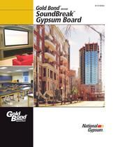 SoundBreak XP Gypsum Board