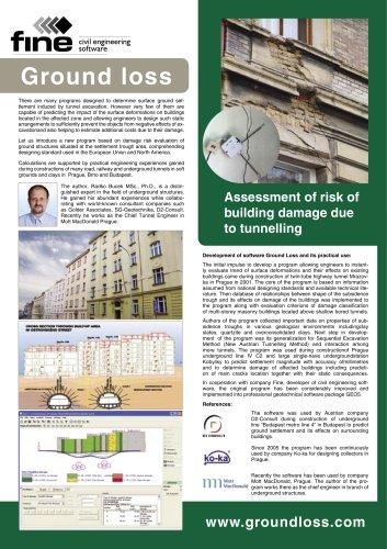 geotechnical GEO5 groundloss - FINE - PDF Catalogs