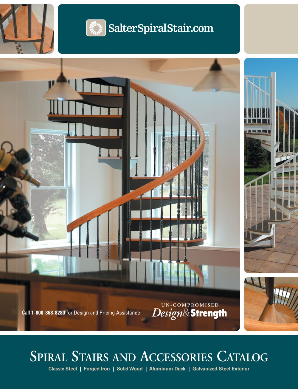 Spiral Stairs And Accessories Catalog   1 / 32 Pages