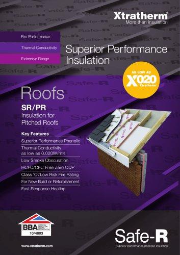 Safe-R Pitched Roofs [SR/PR]