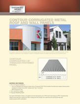 Contour Corrugated Metal Roof and Wall Panels