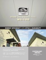  TITAN&reg;  WALL &amp; SOFFIT PANEL WS-100