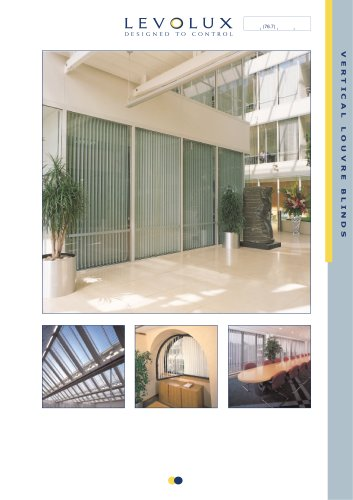 vl louvre blind c cord vertical chain louvres product shadetech blinds