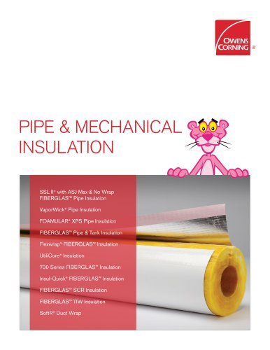 PIPE & MECHANICAL INSULATION - QuietZone - PDF Catalogs