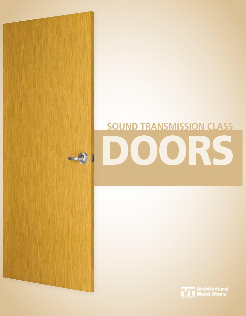 Sound Transmission Class (STC) Door - 4 Pages  sc 1 st  Catalogues Archiexpo & Sound Transmission Class (STC) Door - VT Industries - PDF Catalogues ...