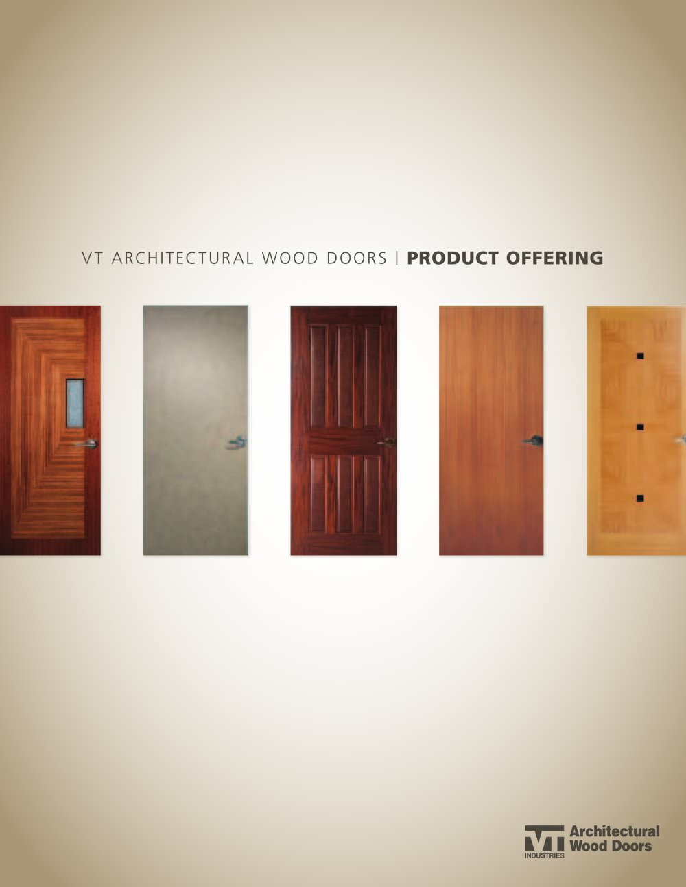 Charmant Vt Architectural Wood Doors / PRODUCT OFFERING   1 / 32 Pages