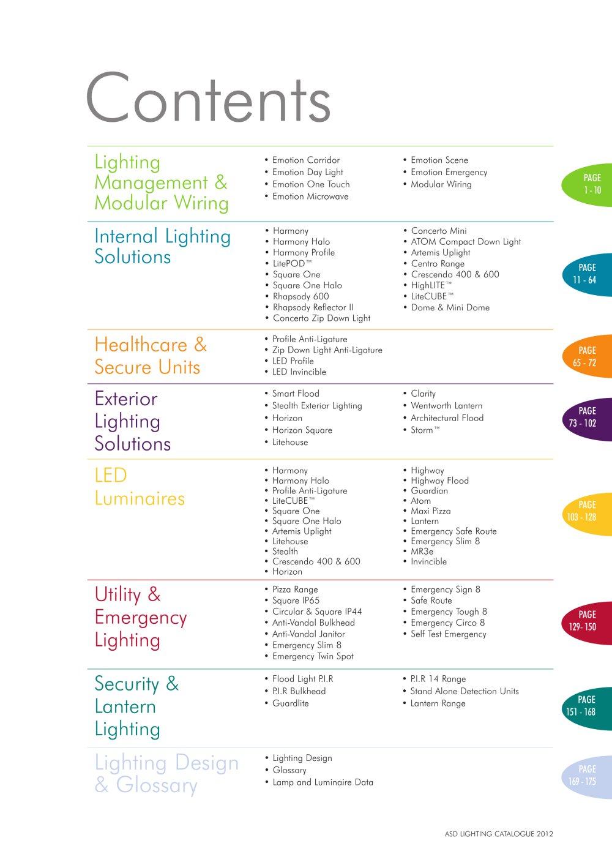 ASD Lighting Catalogue - 1 / 176 Pages  sc 1 st  Catalogues Archiexpo & ASD Lighting Catalogue - ASD Lighting - PDF Catalogues ... azcodes.com