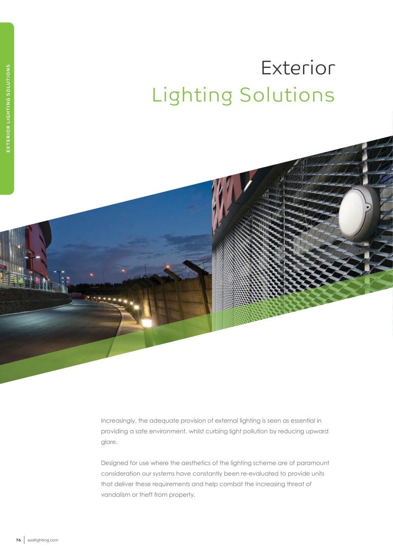 Exterior Lighting Solutions Asd Pdf Catalogs