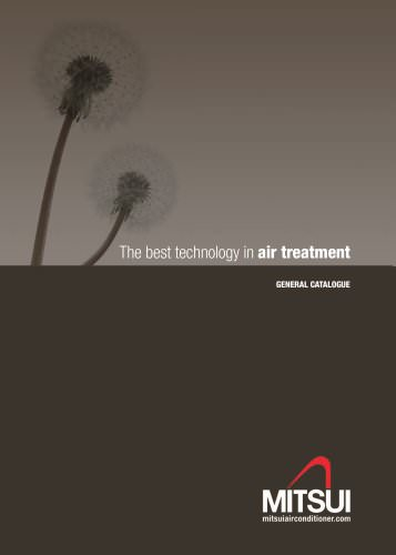 The best technology in air treatment - General catalogue 