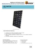 Sunerg Monocrystalline 144/32 cells for battery chargers