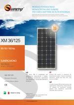 Sunerg Monocrystalline 36 cells for battery chargers