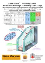 Datasheet - SANCO Plus® Insulating Glass
