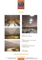 Twentinox metal ceilings