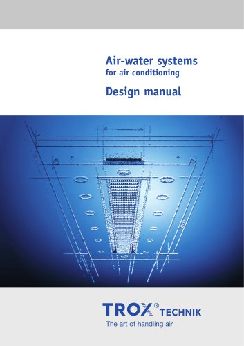 Air-water systems Design manual