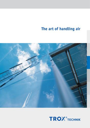 The art of handling air