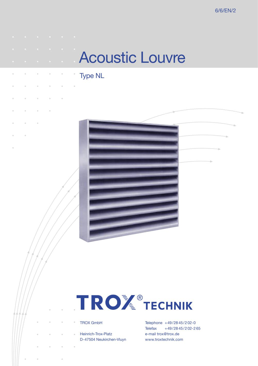 type nl trox pdf catalogues documentation brochures