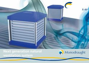 WINDCATCHER® X-Air next generation natural ventilation system