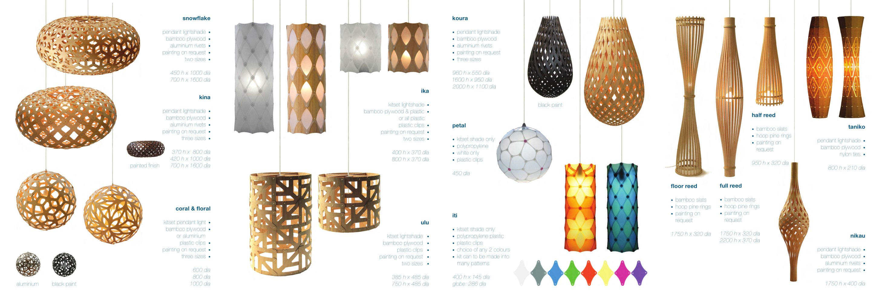 Lighting Brochure   1 / 2 Pages